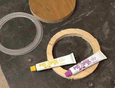 Gluing the Empty Circles - 1