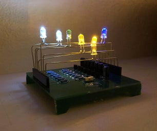 Circuit Board for Making Freeform Circuit Sculptures