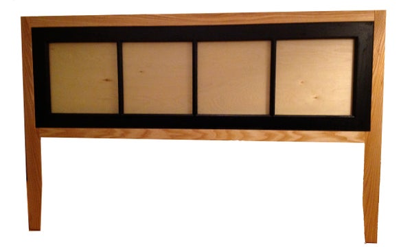 """Make a """"new"""" Headboard From an """"old"""" Window"""