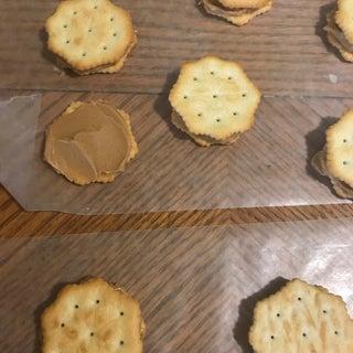 Chocolate Peanut Butter Ritz Cookies