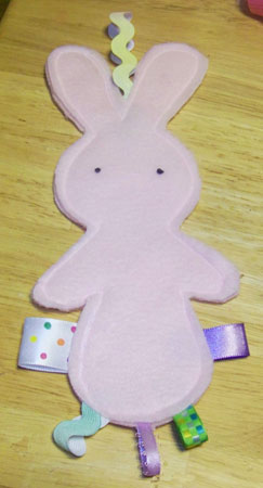 Quick and Easy Taggy Buddy For Your Little One