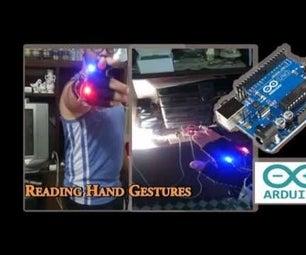 Read Hand Gestures Using Arduino