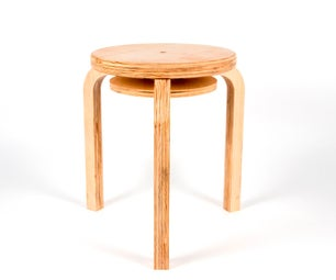 How to Furnish Your Apartment With CNC Tools: Part 1 - Stackable Aalto Stools
