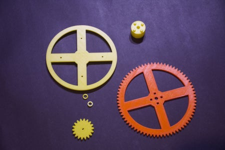 Print the Gears and Plastic Parts