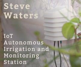 Autonomous Solar-powered Irrigation & Monitoring Station
