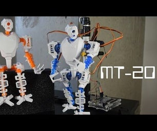 MT-20: Functional 3D Printed Robot