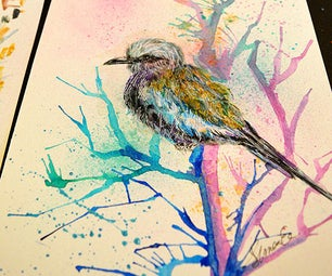 How to Paint Birds in Watercolor