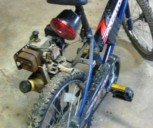 My Homemade Motor Bike!