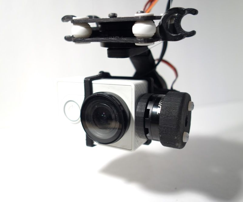 3D Printed 3-Axis Gimbal for Drone