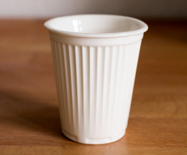 Slip Casting Porcelain Espresso Cups