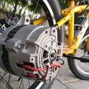 DIY E-Bike Out of Car Alternator