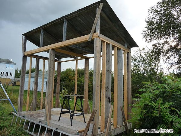 Wood Shed or FireWood Shed - Wood Storage Shed Idea