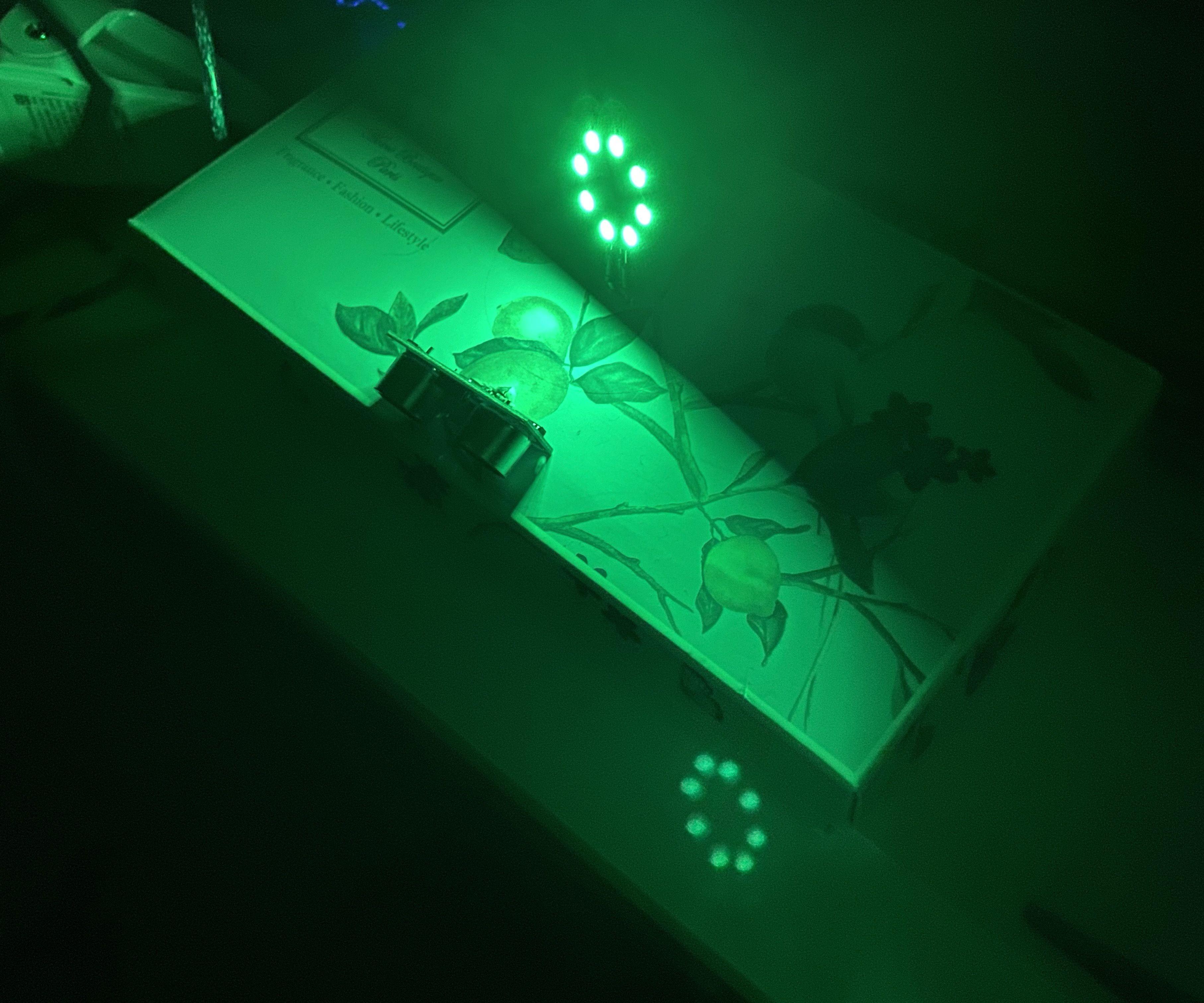 Distance Sensor(HC-SR04) W/ LED Ring