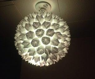 Simple Elegant Paper Lantern/Lamp Easy!