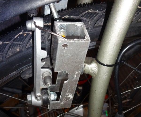 Wheel-28 to 26 ' Downsize Brake Adapter
