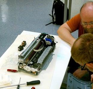 Hacking an Old Inkjet Printer to Print Biomaterials
