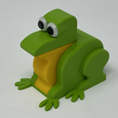 A 3D Printed Simple Mechanical Frog.