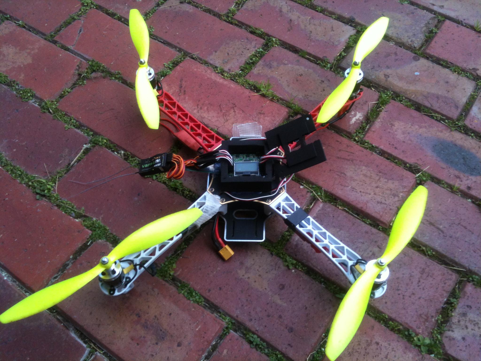 Building Quadcopters, Drones and Uav's- A explanation and easy build of a basic Quad.