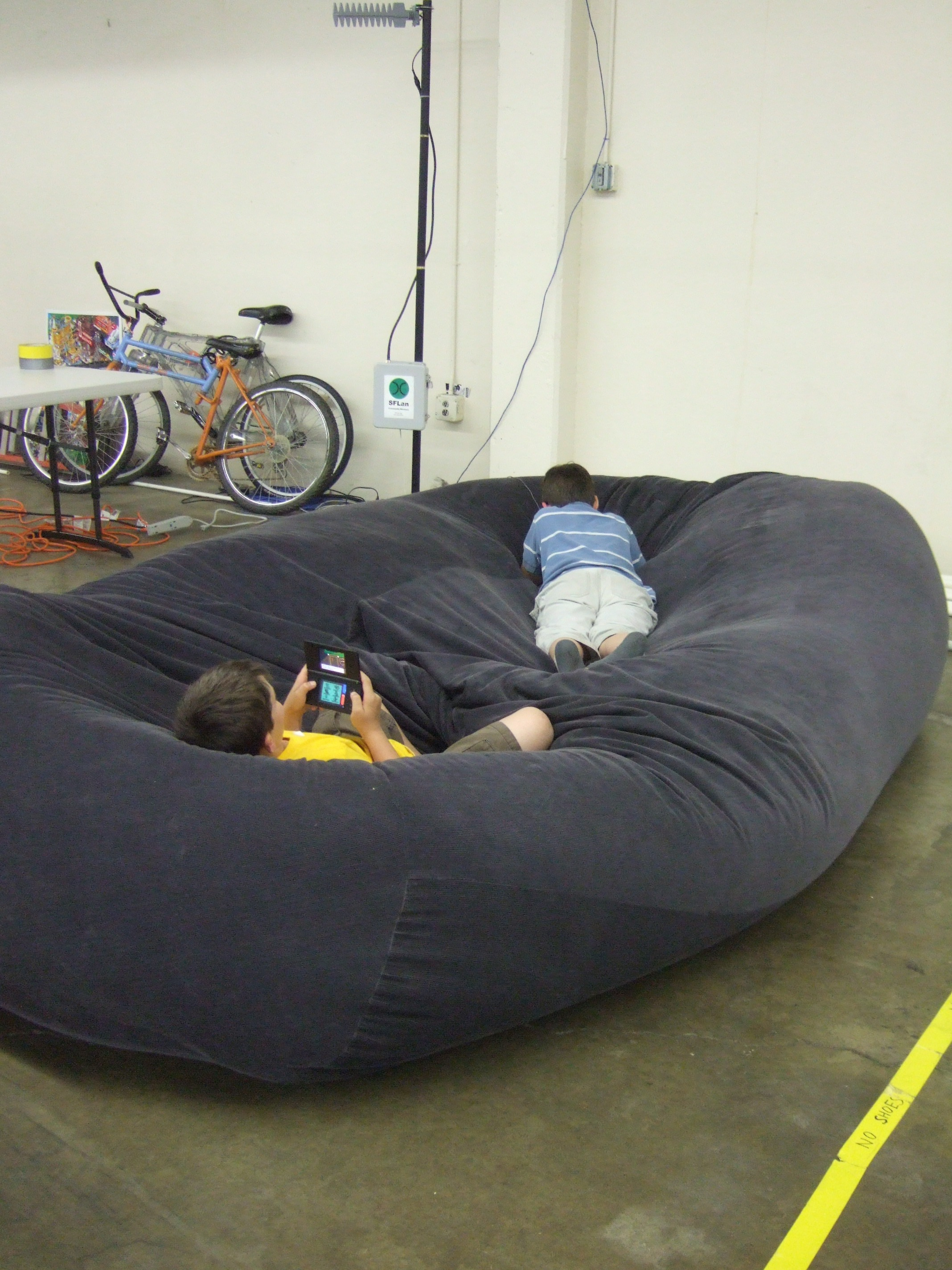 Picture of: Bean Bag Sofa Bed 8 Steps With Pictures Instructables