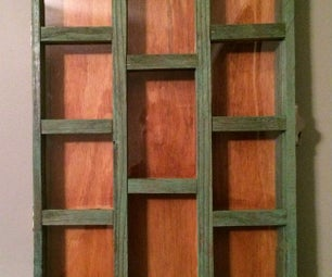 Fence Wood Shadow Box