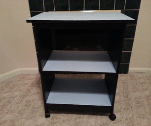 Refinishing a Salvaged Utility Cart
