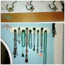 Upcycled Jewelry Rack