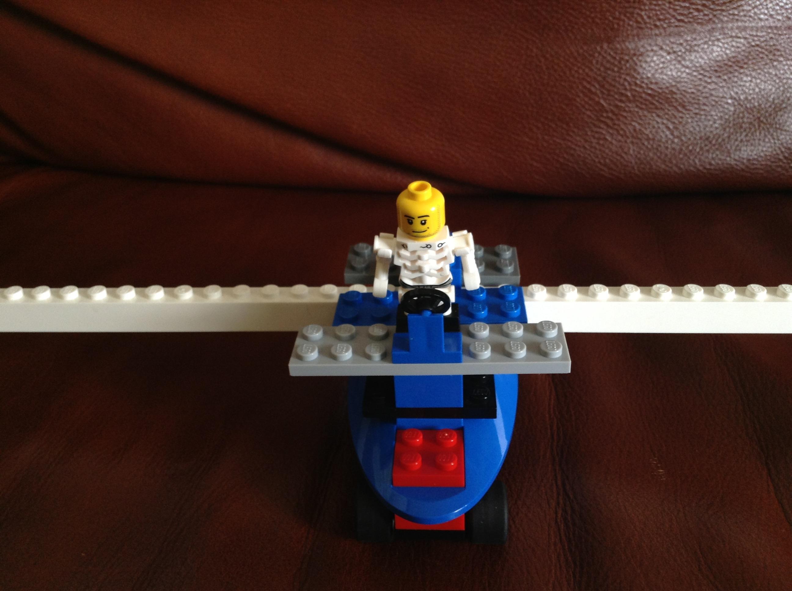 A Lego Air Plane Car