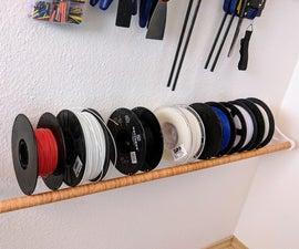 3D Filament Spool Rack