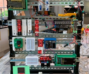 A Simple Method to Organize Your in Projects Using DIN Rail