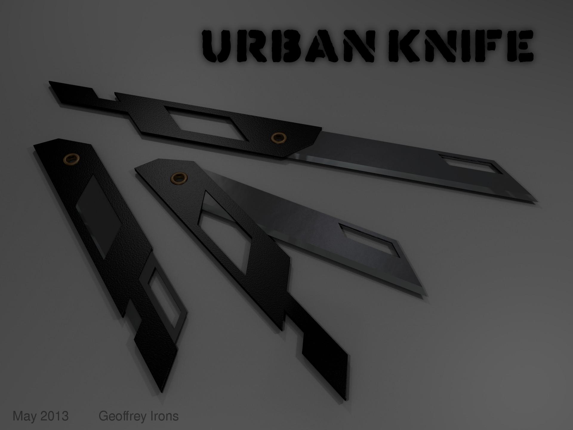 The Urban Micro-Knife