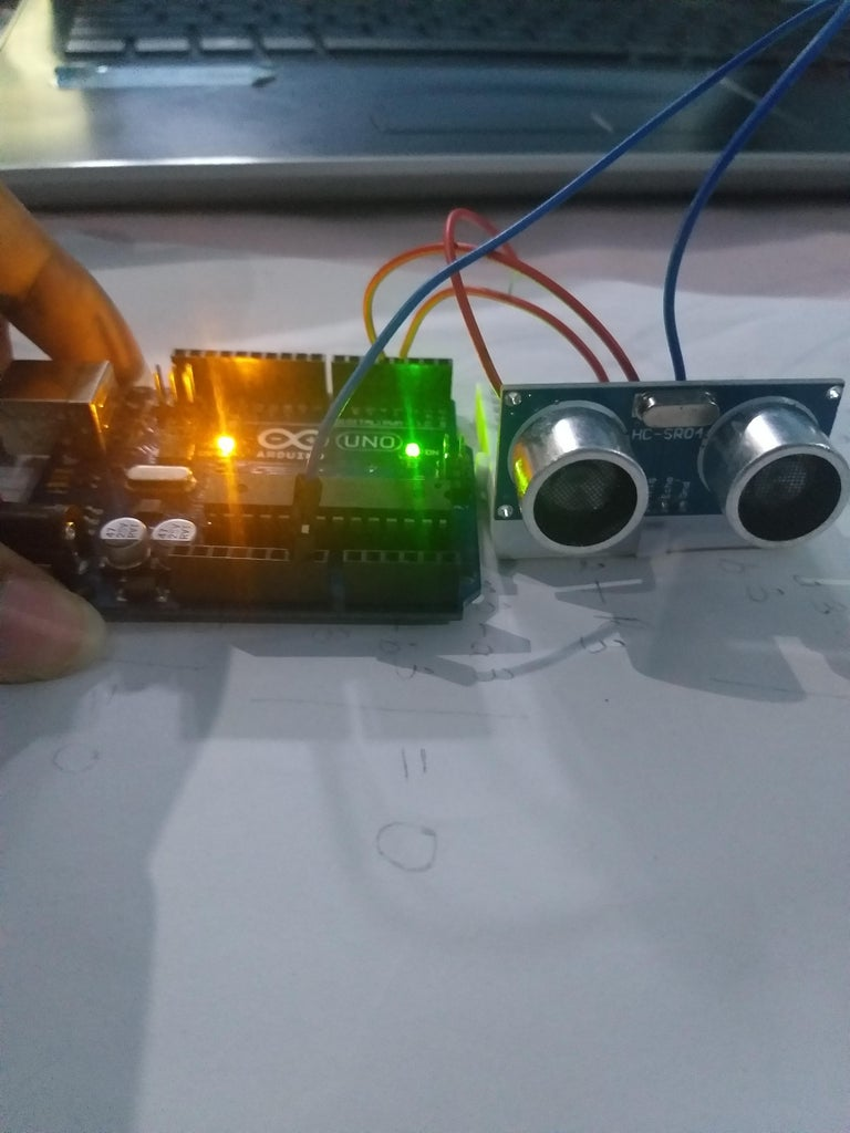 Connecting Ultrasonic Sensor With Arduino