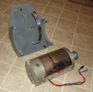 Making the Generator Cradle
