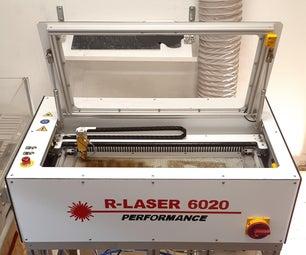 Diy co2激光器:r-laser 6020