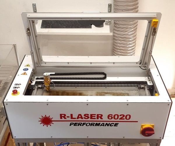 DIY CO2 LASER: R-LASER 6020