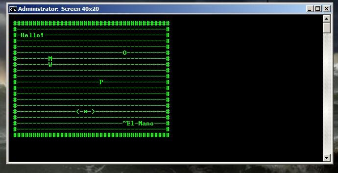 Creating A Pixel Screen In Batch