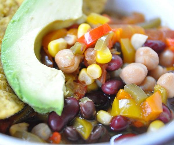 How to Make Vegan Three Bean Chili