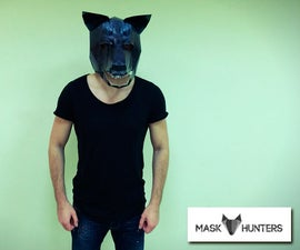 How to Make Wolf Mask From Paper