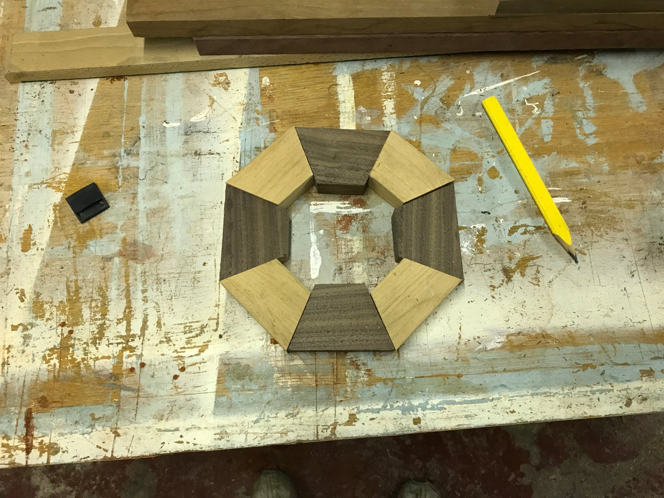 Gluing Up the Segmented Layers