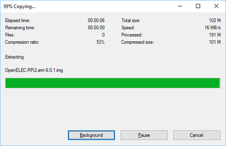 Downloading and Installing OpenELEC to the SD Card