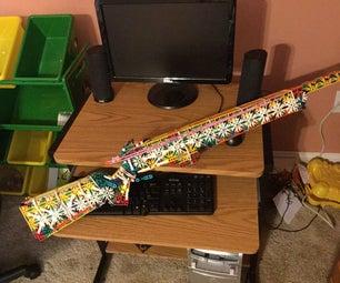 The Saber a K'nex Rifle
