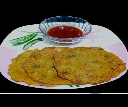 बेसन चीला  |  Besan Cheela | Veg Omelette