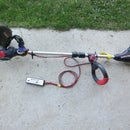Weed Trimmer Motor Replaced With Brushless RC Truck Motor and Uses an Arduino Control Board
