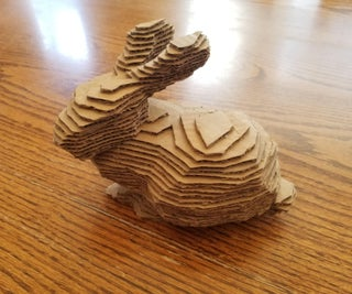 How to Make a Layered Cardboard Sculpture of Almost Anything