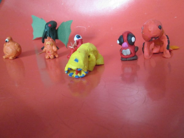 How to Make a Clay Monster