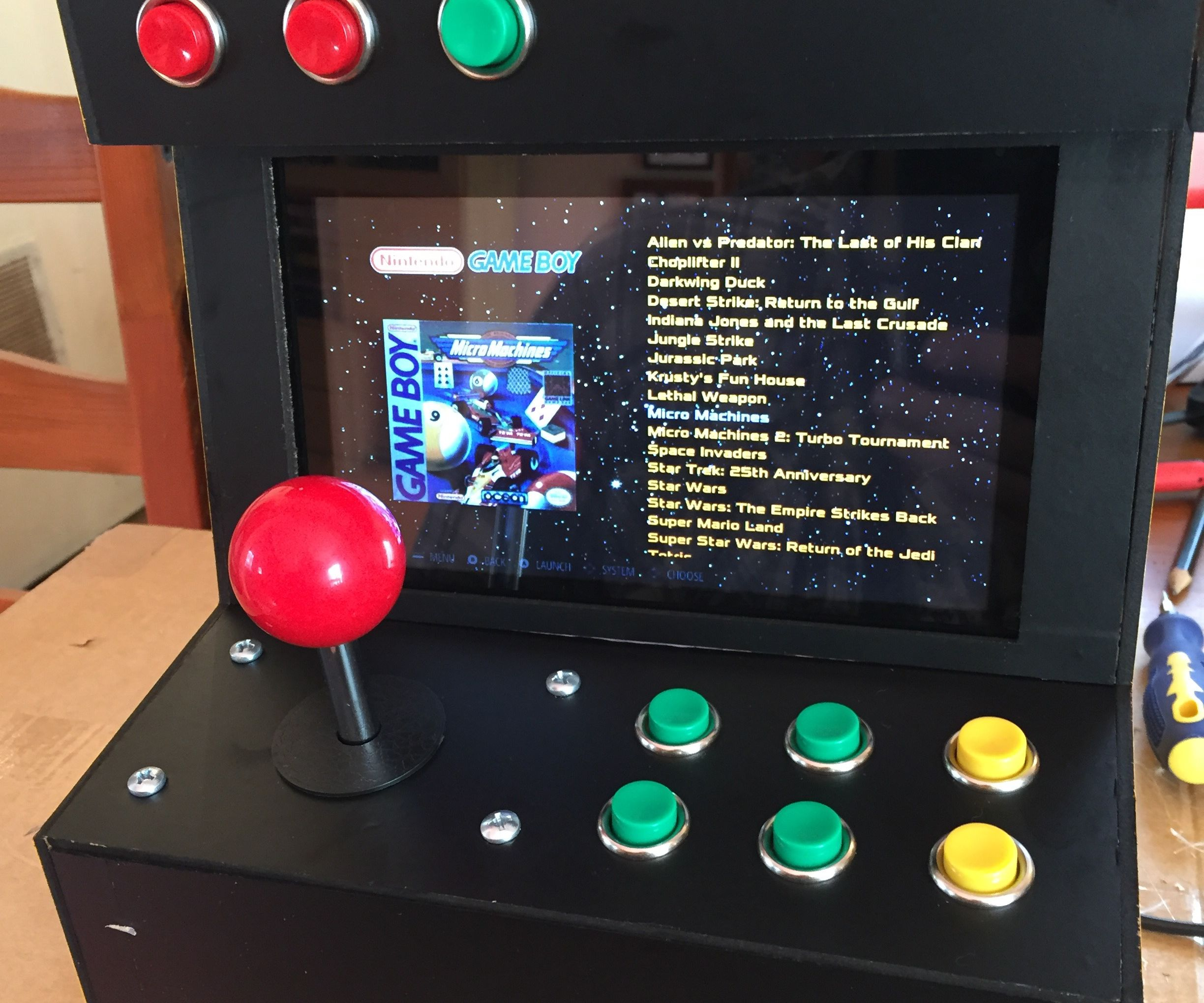 Retropie Arcade Game Machine