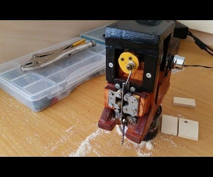 Homemade 12V JIGSAW Variable Speed
