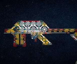 Extreme Builder's 12 Shot Knex Gun