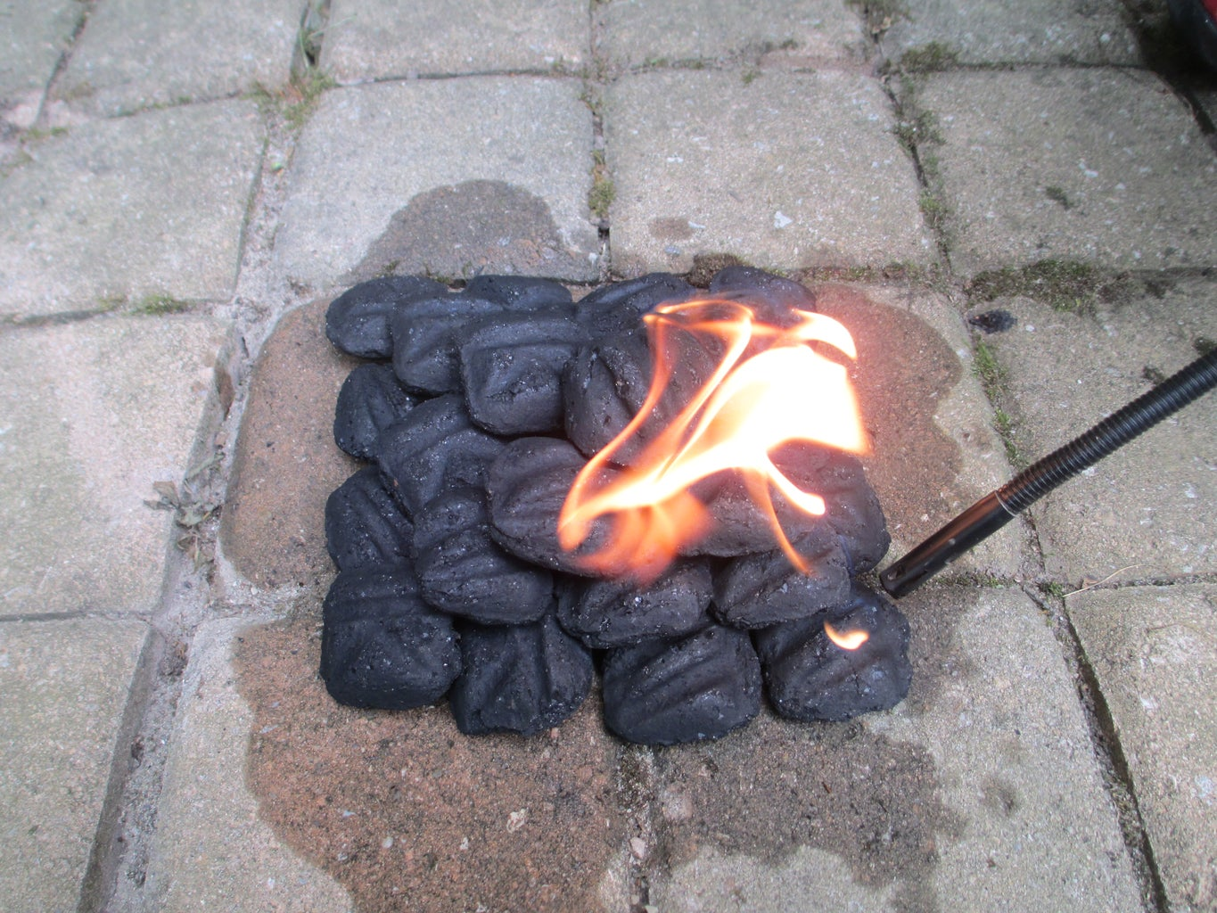 Build Cooking Fire