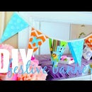 How to make a Festive Banner!!! {DIY}