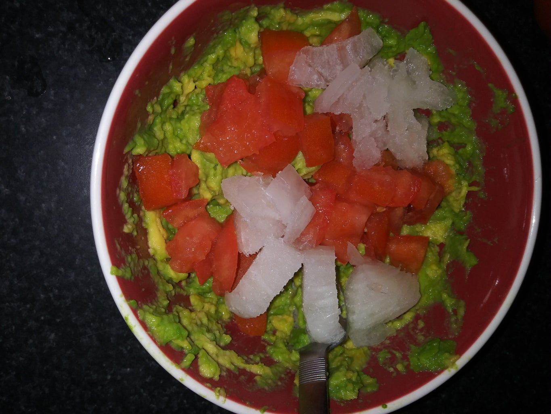 Chop White Onion
